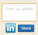 Share an Update LinkedIn